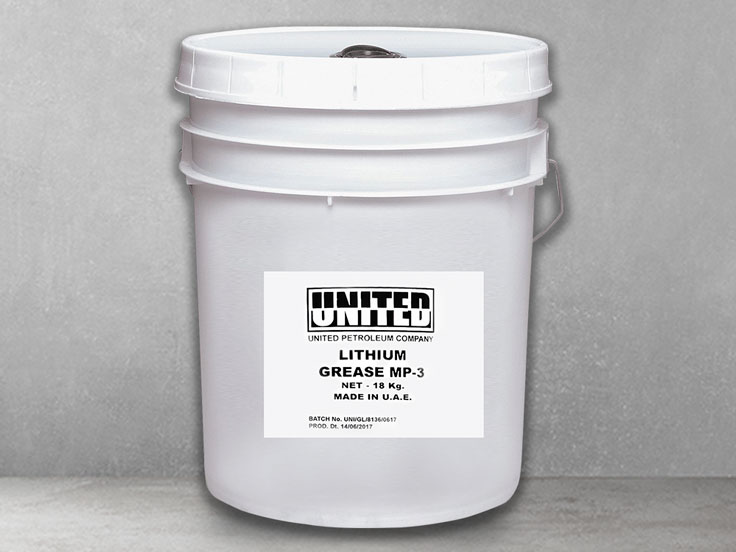UNITED Grease Lithium NLGI -MP  3 (18KG)